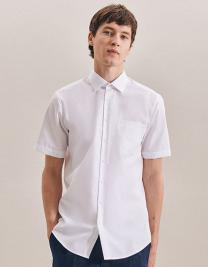 Mens Shirt Modern Fit Shortsleeve