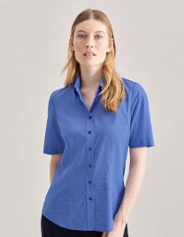 Womens Blouse Modern Fit Shortsleeve