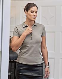Ladies Luxury Stretch Polo