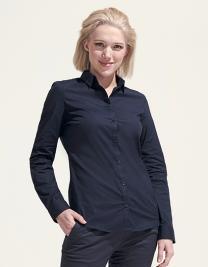 Women`s Long Sleeve Stretch Shirt Blake