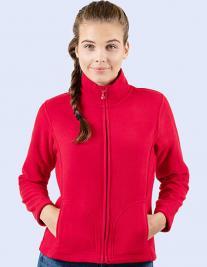 Ladies Full Zip Fleece Jacket