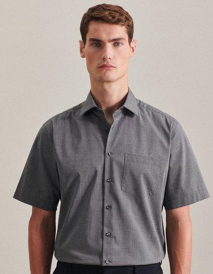 Mens Shirt Modern Fit Shortsleeve