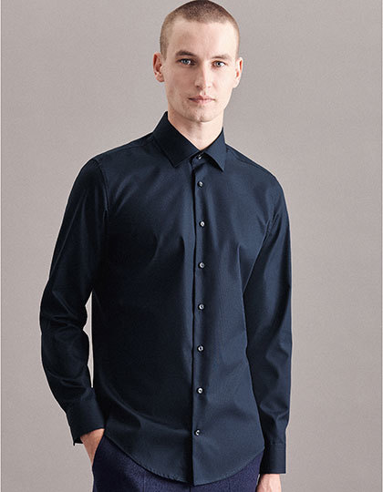 Mens Shirt Tailored Fit Longsleeve